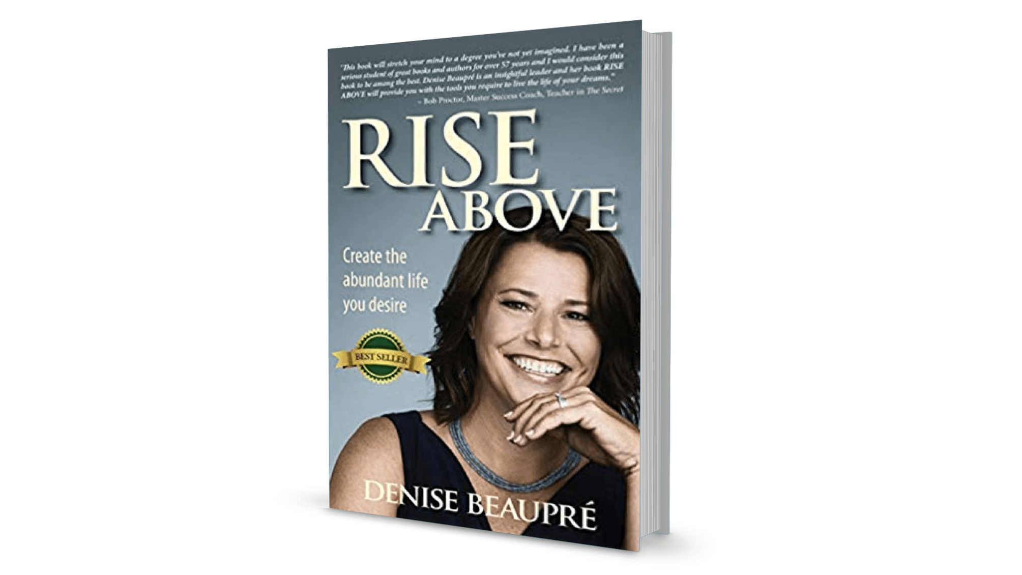 Rise Above book by Denise Beaupre